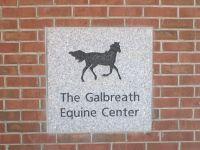 10/30 OSU plaque to equine area