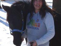 BeeBee & her trainer Dec 2006